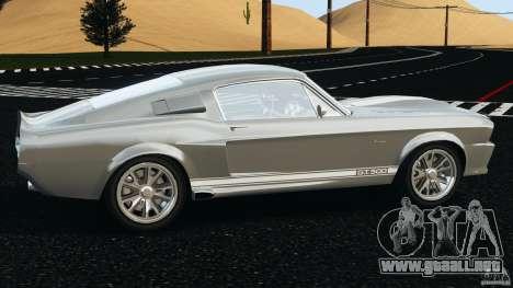 Shelby GT 500 Eleanor v2.0 para GTA 4 left