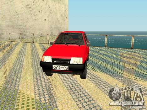 VAZ 2109 v2 para GTA San Andreas left