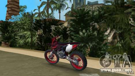 Yamaha v.2 para GTA Vice City vista lateral izquierdo