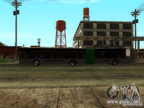 Trolebús LAZ E301 para visión interna GTA San Andreas