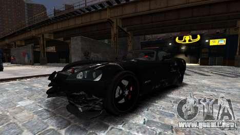 Dodge Viper SRT-10 ACR 2009 para GTA 4 vista interior