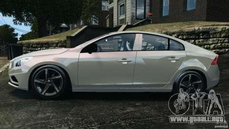 Volvo S60 R Design para GTA 4 left