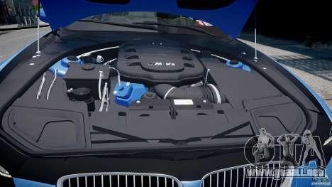 BMW M3 E92 2008 v.2.0 para GTA 4 vista desde abajo