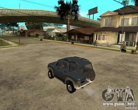 UAZ Patriot 4 x 4 para GTA San Andreas left