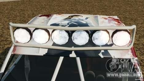 Toyota Tundra Karin Sahara v2.0 para GTA 4 vista desde abajo
