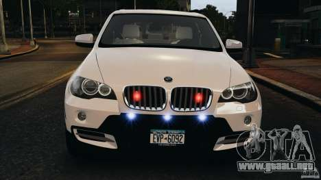 BMW X5 xDrive48i Security Plus para GTA 4 interior
