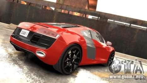 Audi R8 V10 2010 [EPM] para GTA 4 vista hacia atrás