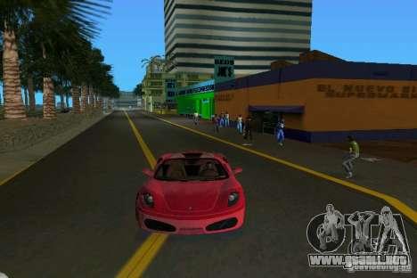 Ferrari F430 Spider 2005 para GTA Vice City vista lateral izquierdo