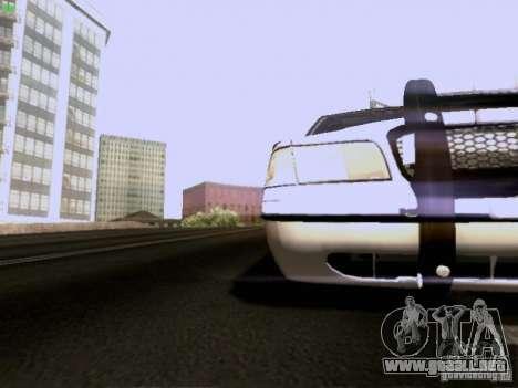 Ford Crown Victoria Canadian Mounted Police para visión interna GTA San Andreas