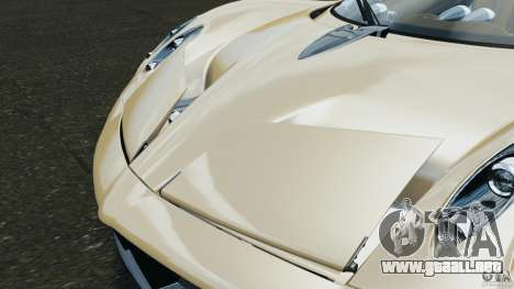 Pagani Huayra 2011 v1.0 [EPM] para GTA 4 ruedas