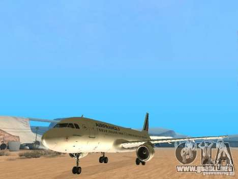Airbus A320 Air France para GTA San Andreas