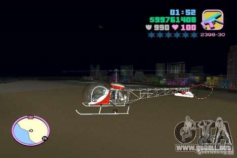 Bell 47 para GTA Vice City left