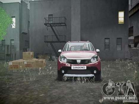 Dacia Sandero Stepway para GTA 4 vista superior