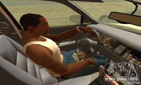 Ford Crown Victoria Neberska Police para GTA San Andreas vista posterior izquierda