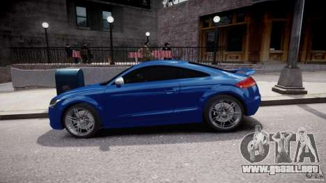 Audi TT RS Coupe v1 para GTA 4 vista interior