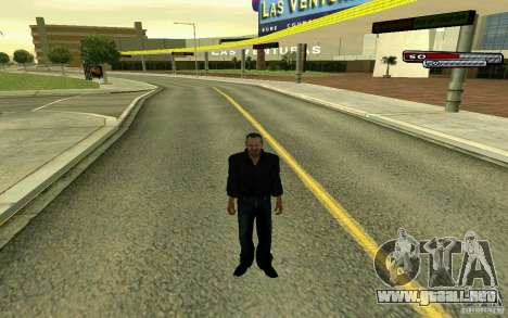 Russian Mafia para GTA San Andreas sucesivamente de pantalla