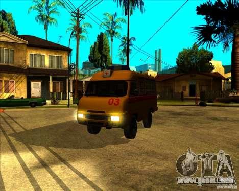 Medical 3962 UAZ para GTA San Andreas