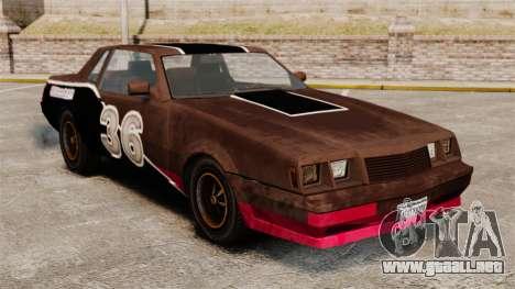Nuevo colorante oxidado Vigero y Sabre para GTA 4 tercera pantalla