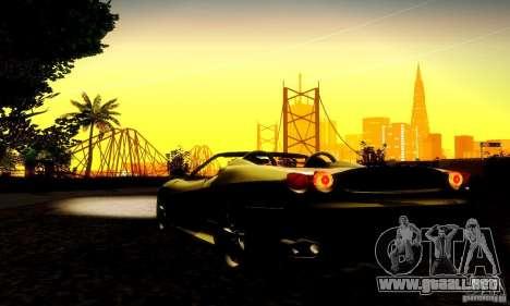 Ferrari F430 Spider para visión interna GTA San Andreas