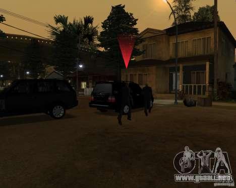 Protección en un jeep para GTA San Andreas tercera pantalla