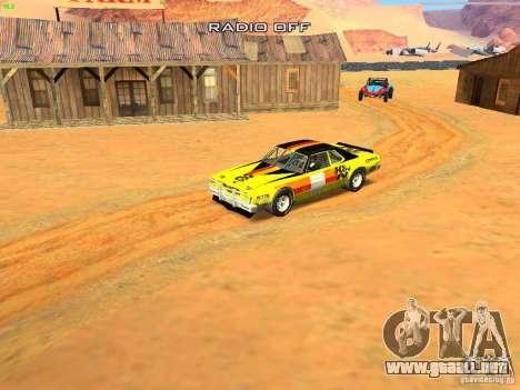Jupiter Eagleray MK5 para la vista superior GTA San Andreas
