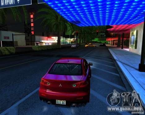 ENB Series by LeRxaR v 2.0 para GTA San Andreas sucesivamente de pantalla
