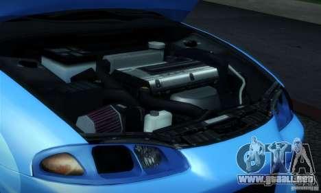 Mitsubishi Eclipse GSX 1999 para visión interna GTA San Andreas