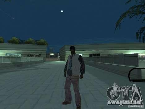 Skins Collection para GTA San Andreas sucesivamente de pantalla