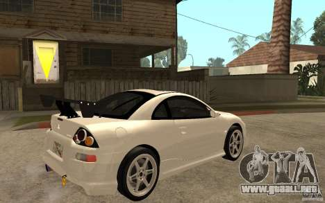 Mitsubishi Eclipse 2003 V1.5 para la visión correcta GTA San Andreas