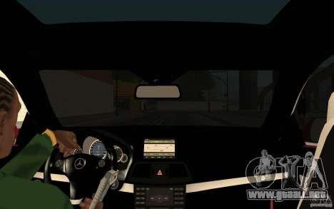 El guión de CLEO: vista desde la cabina para GTA San Andreas sucesivamente de pantalla