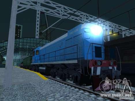 Modificación del ferrocarril III para GTA San Andreas séptima pantalla