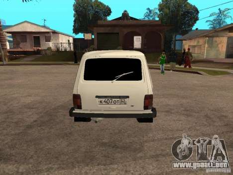 VAZ 2131 para la visión correcta GTA San Andreas