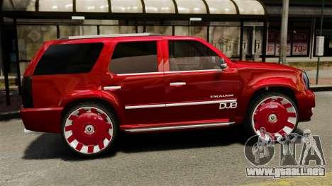 Cadillac Escalade 2011 DUB para GTA 4 left