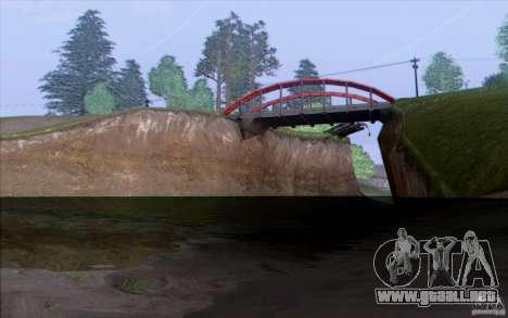 Campo HQ para GTA San Andreas segunda pantalla