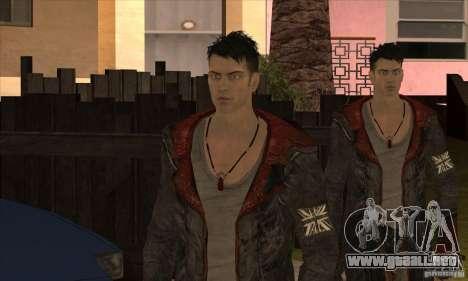 Dante de Devil May Cry para GTA San Andreas