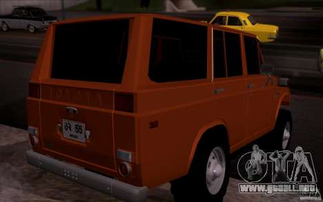 Toyota Land Cruiser FJ55 para GTA San Andreas left