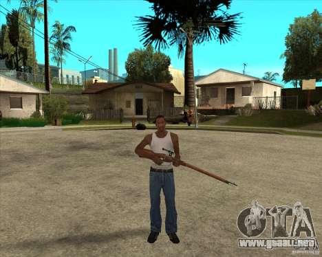 Armas de call of duty para GTA San Andreas sucesivamente de pantalla