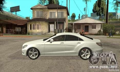 Mercedes-Benz CLS 350 2011 para GTA San Andreas left