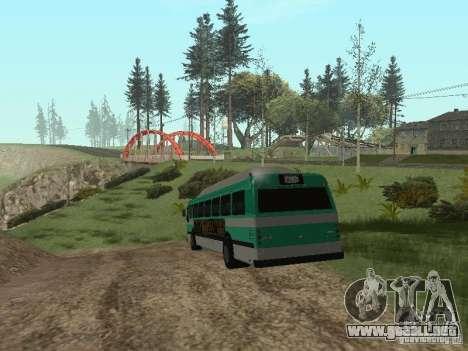 Bus de GTA 4 para la visión correcta GTA San Andreas