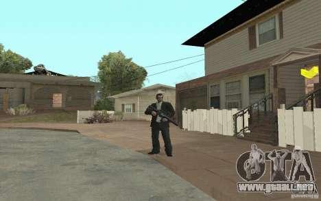 Animación del GTA IV para GTA San Andreas novena de pantalla