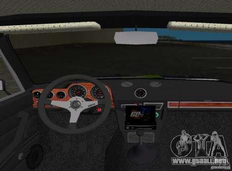 2106 VAZ Tuning v3.0 para GTA Vice City vista lateral