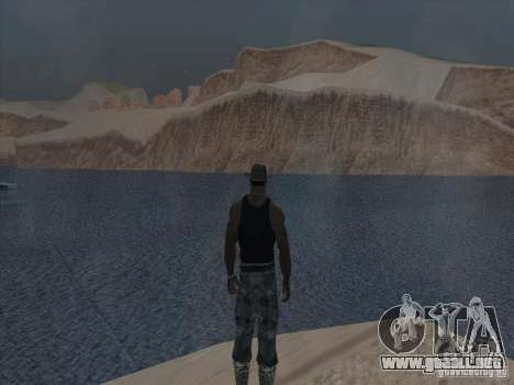 Las nubes hermosas y mucho más para GTA San Andreas sexta pantalla