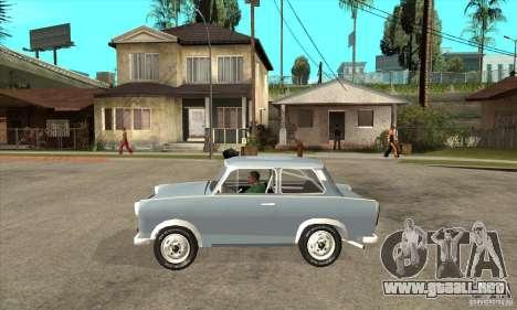 Trabant 601 Custom para GTA San Andreas left