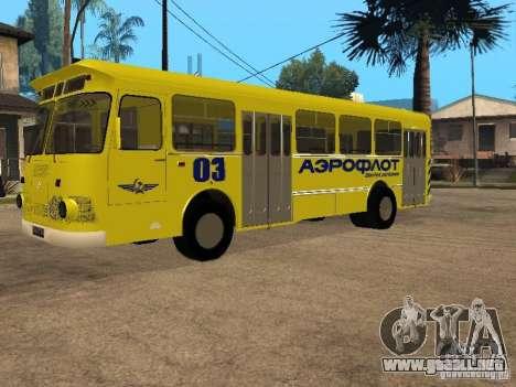 LIAZ 677p para GTA San Andreas