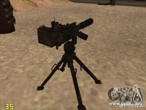 Turrel′ para GTA San Andreas segunda pantalla
