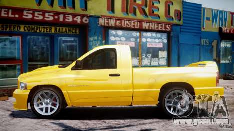 Dodge Ram SRT-10 2003 1.0 para GTA 4 vista interior