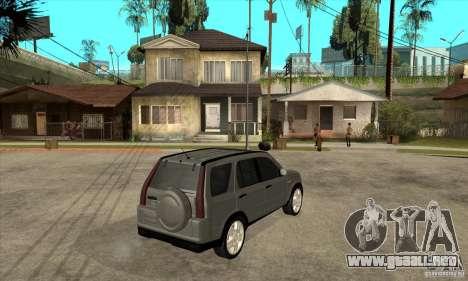 Honda CRV (MK2) para la visión correcta GTA San Andreas