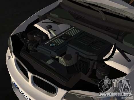 BMW 1M Coupe RHD para GTA Vice City vista interior