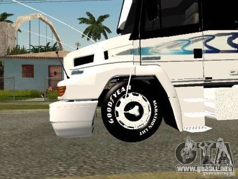 Mercedes-Benz 1938 LS para vista lateral GTA San Andreas