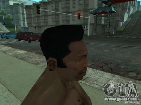 LA NUEVA CARA DE CJ para GTA San Andreas séptima pantalla